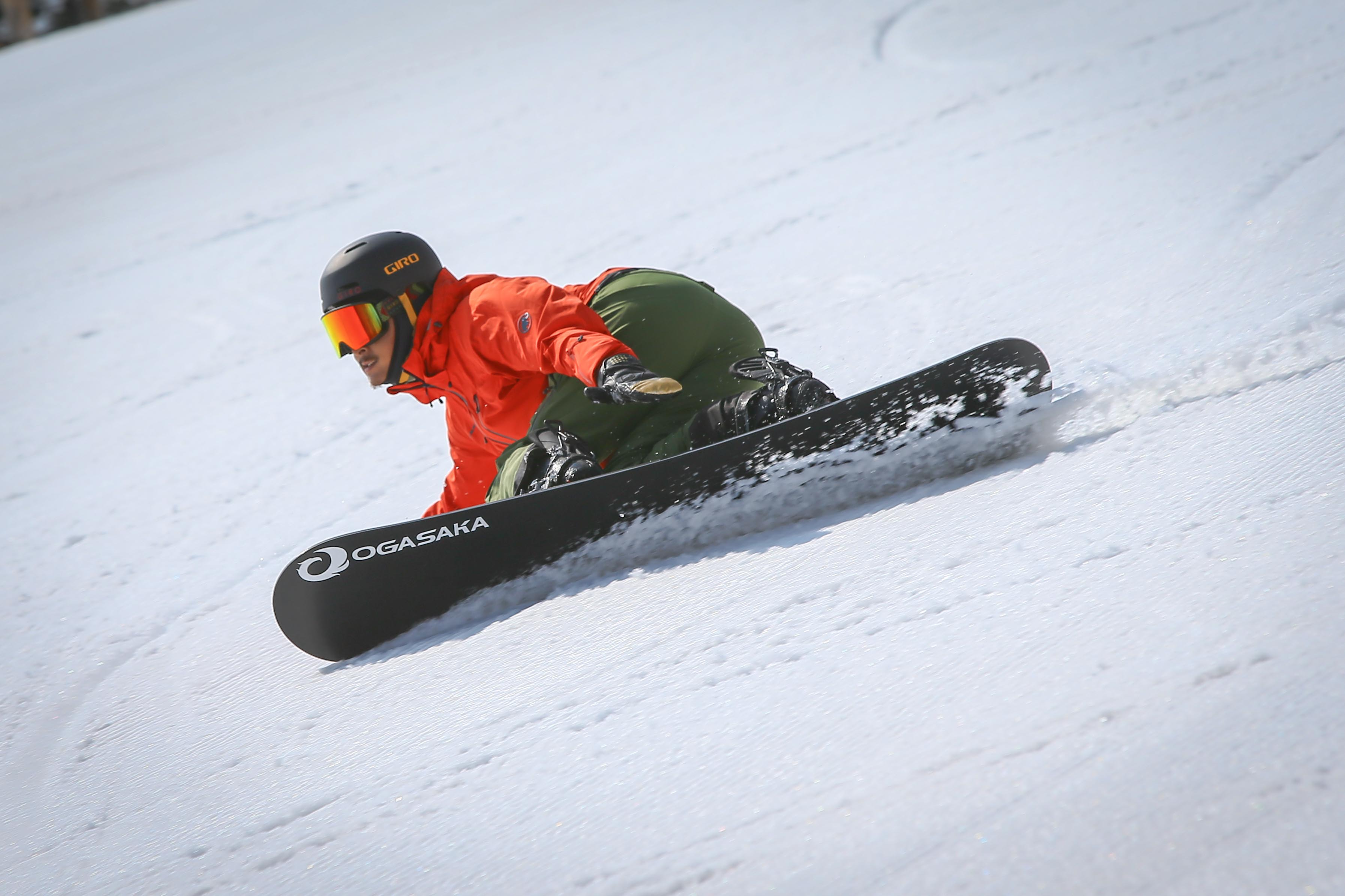 head Snowboards 「 SEVEN BOA」× 臼井裕二デモ 履き方