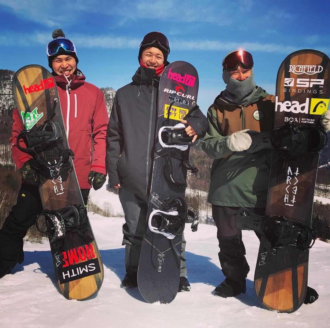 18-19 head Snowboards 「パークスタイル」