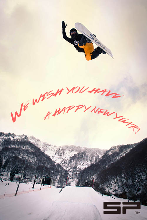 FOR a happy new year! from SP bindings