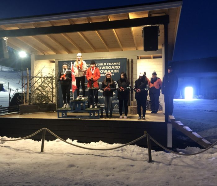 FIS JUNIOR SNOWBOARD WORLD CHAMPIONSHIPS 2019 奥山華波が5位入賞
