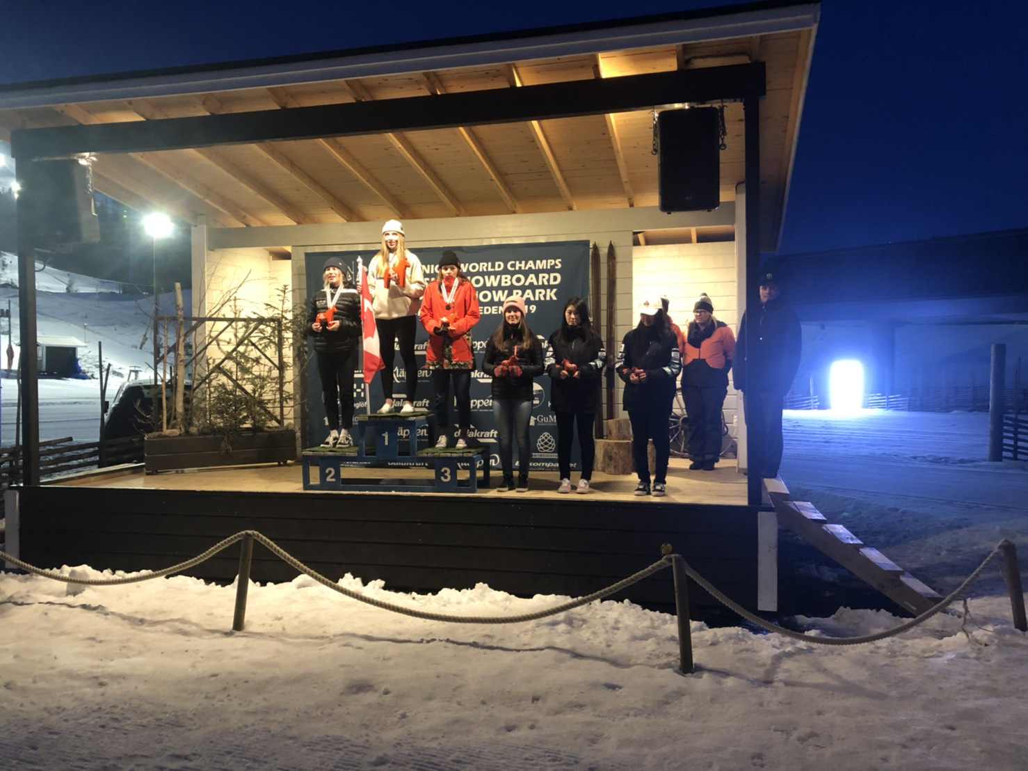 FIS JUNIOR SNOWBOARD WORLD CHAMPIONSHIPS 2019 奥山華波が5位入賞